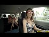 Bailey Brooke Rhonda Rhound &amp Tara Ashley - Lovers In The Backseat Lesbian