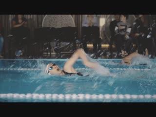Соревнования по плаванию в С.С.С.Р. Ткацкая