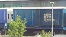 ВЛ10 1153 с контейнерным грузовым поездом и ЭМ2и 010