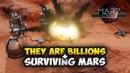 ЗАБАВНАЯ СТРАТЕГИЯ ПРО ОБОРОНУ МАРСИАНСКОЙ БАЗЫ - MarZ: Tactical Base Defense