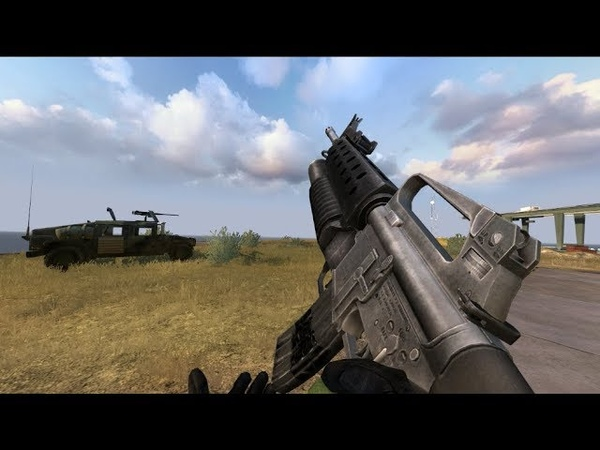 BF2 Zone of Continuous Fire 2.5 mod - New M16A2 M203