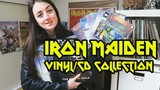 My Iron Maiden Vinyl Record &amp CD Collection UPDATED Emmelie Herwegh