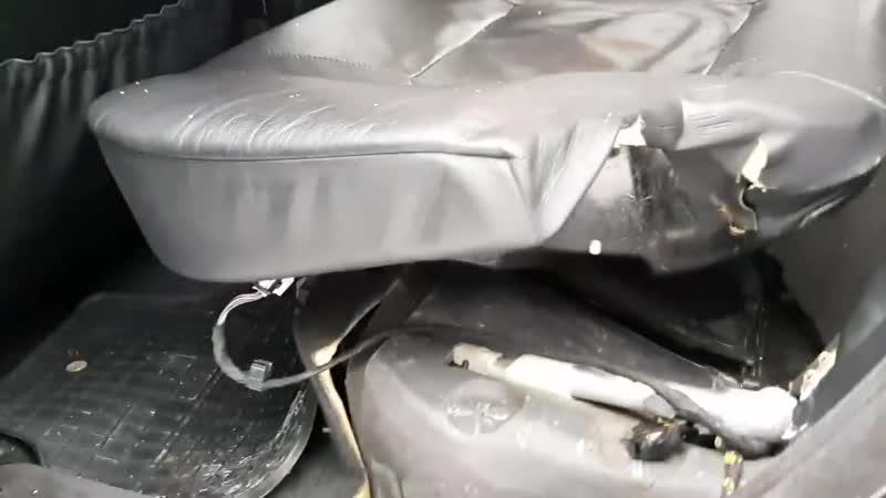 Литовские таможенники распилили BMW чтобы достать контрабандные сигареты