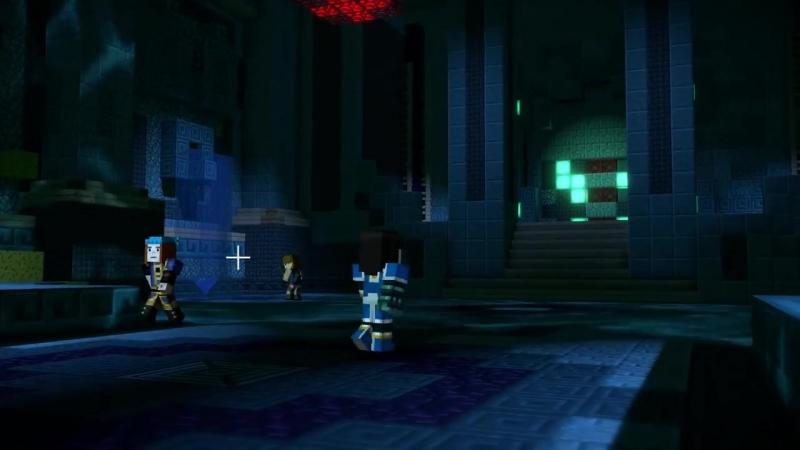 [TheBrainDit] Minecraft: Story Mode Season 2 - ПОДВОДНЫЙ ХРАМ (ФИНАЛ) 3