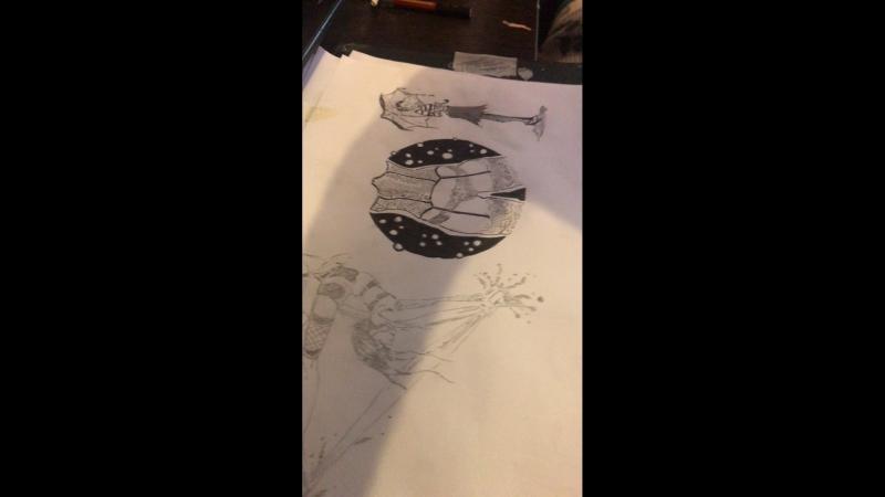 Рисунок в ню