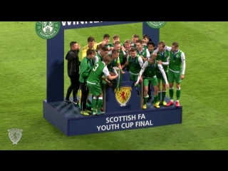 Aberdeen 1-3 Hibernian. Scottish FA Youth Cup Final 2017-18