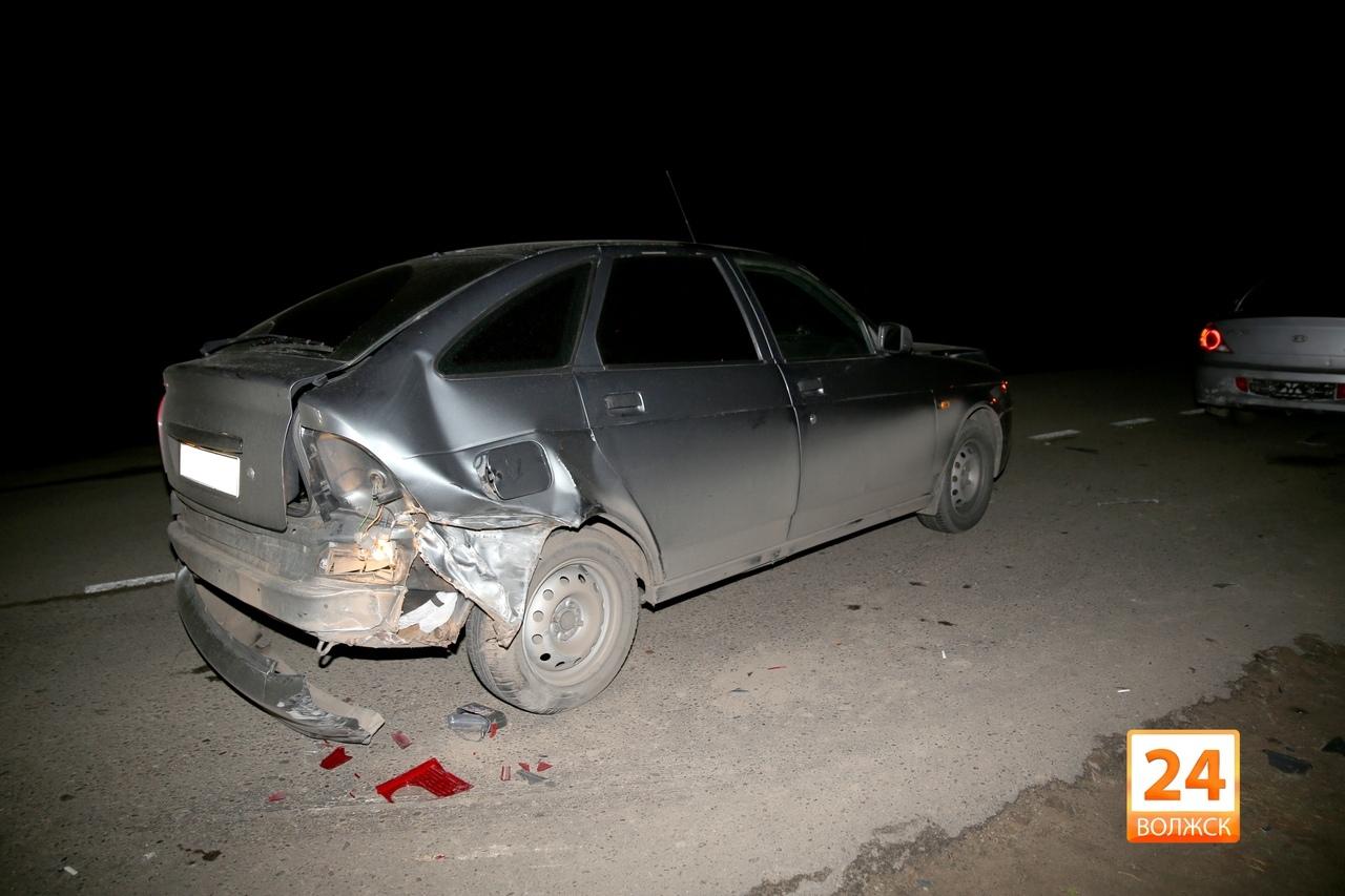 В Волжске произошло ДТП с участием трех автомобилей