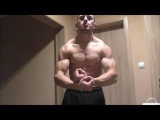 Shredded Alpha Muscle Beast DylonSC Flexes Lean Rock Hard Body