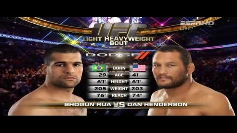 Dan Henderson vs. Shogun Rua [UFC 139 Shogun vs. Henderson] 19 11 2011
