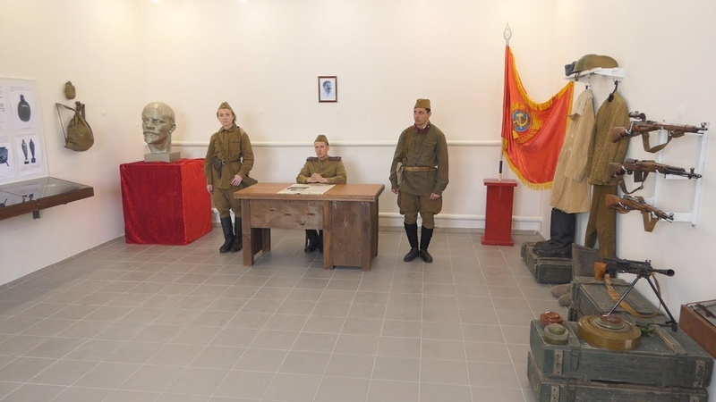 В п Формальный открыт военно исторический музей