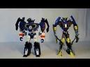 Трансформеры Роботы под прикрытием Warrior Deluxe Саундвейв customize