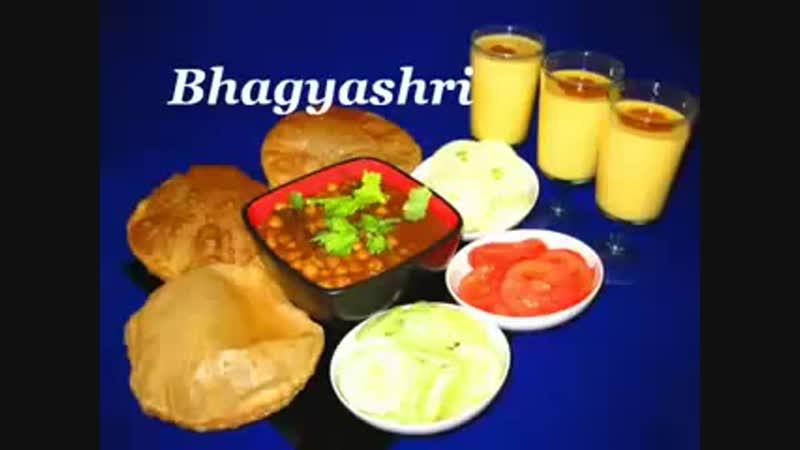 388.Chole Bhature By Bhagyashri