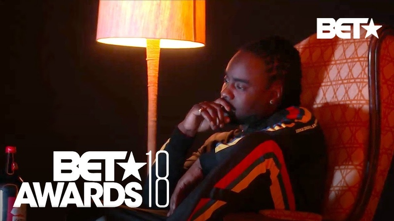 J. Cole Mixes Old New With His Performance of 'Intro' 'Friends' | BET Awards 2018