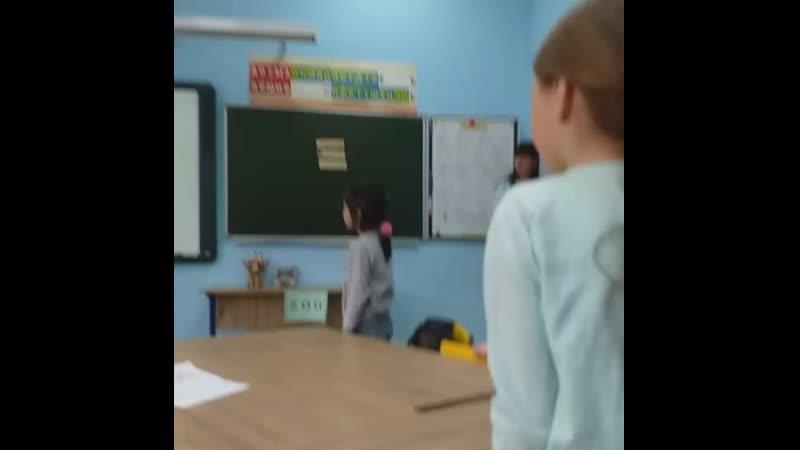 Мастеркласс для будущих первоклассников в билингвальном классе)