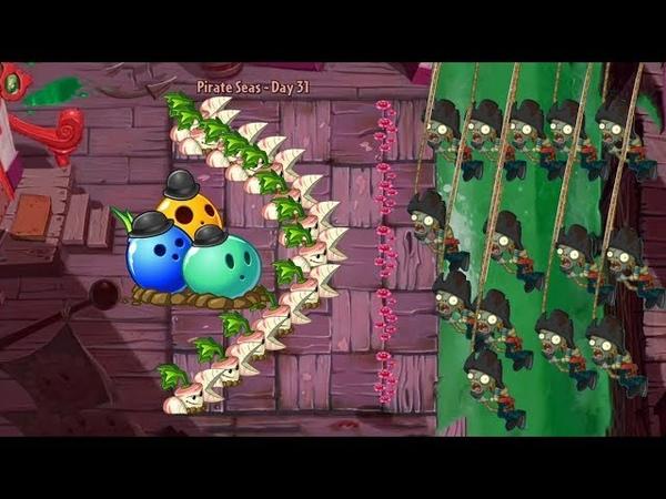 Bowling Bulb and Parsnip vs 999.999 Zombies - Pvz 2 hack