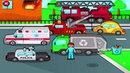 Развивающие мультики для самых маленьких Транспорт Техника Пазлы Мультфильмы