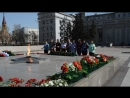 Клуб бардовской песни ПламяВозложение цветов к Вечному огню (Иркутск-2018)