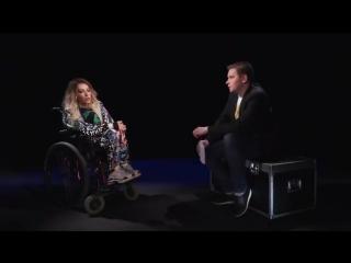 Самойлова заявила, что на Евровидение в Украине ее выбрали, из-за инвалидной коляски