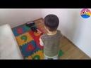 Süper Ömer Süpürge Yapıyor Temizlik Yapıyor Challenge Çocuklar için Eğlenceli Videolar