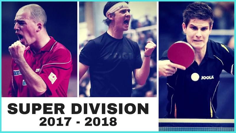 DELPORTE Hervé - KREANGA Kalinikos SUPER DIVISON 2017 2018 TABLE TENNIS