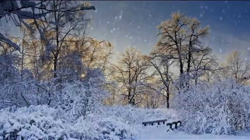 Волшебная музыка Таривердиева. Снег над Ленинградом. Tariverdiev.Snow over Leningrad.