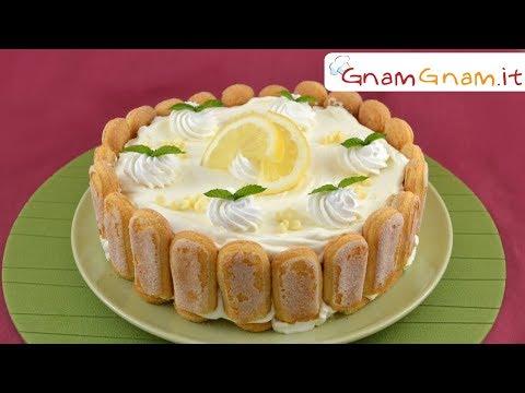 TIRAMISU' al LIMONE, la ricetta fresca e senza uova crude!