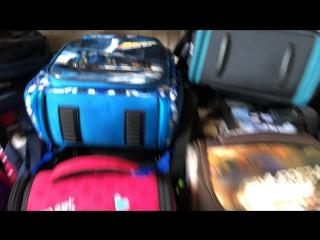 Обзор рюкзаков и ранцев для школьников в наличии на 19.07.18