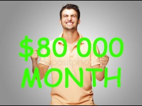 ✅ $80 000/MONTH ✅ How to make money online fast 2018 (How to make money online fast and free)✅
