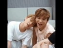 Sleepy jungwoo and shy xuxi