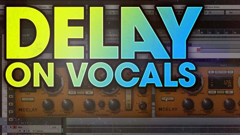 How to use delay to mix verse vocals in a rock song (Saosin The Silver String)