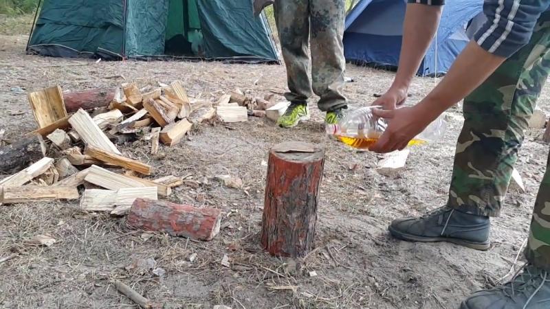 Техника амурских лесорубов.
