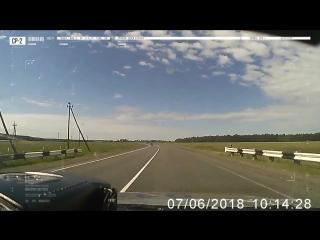 Погоня за черным Cadillac в Бобруйском районе