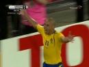 ЧМ 2006 Хенрик Ларссон Швеция мяч в ворота сборной Англии