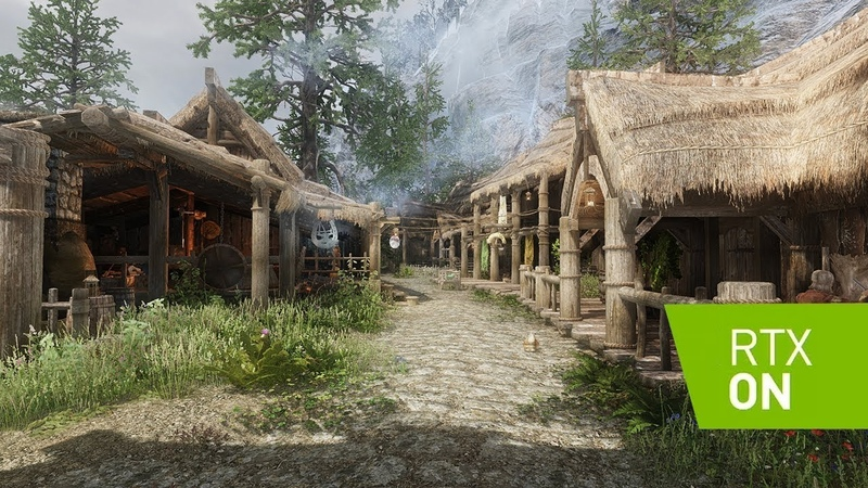 Skyrim SE 2019 - RAY TRACING - Marty McFlys RT Shader - Ultra Modded - 4k