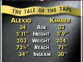 Dennis Alexio vs Dick Kimber
