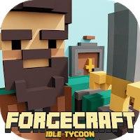 Install  ForgeCraft - Idle Tycoon [Мод: много рубинов]