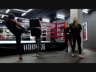 Varyag FG Tverskaya тайский бокс для девушек