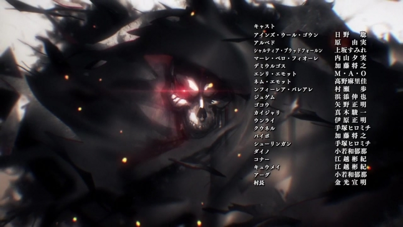 [AnimeOpend] Overlord III (TV-3) 1 ED   Ending / Оверлорд / Владыка (ТВ-3) 1 Эндинг (720p HD)