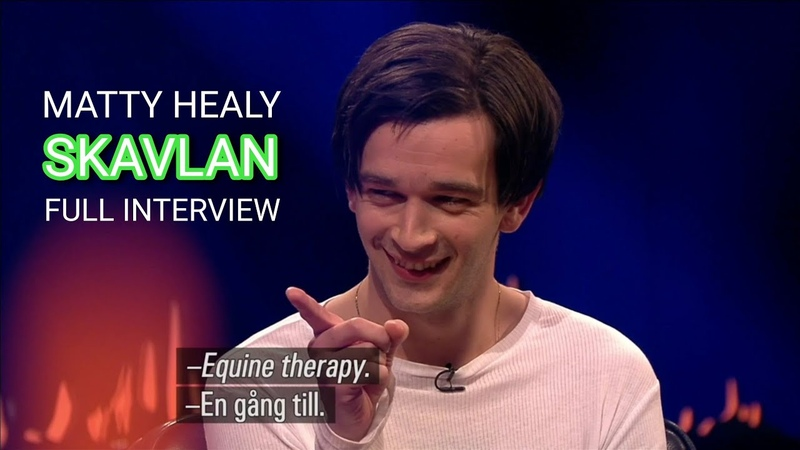 Matty Healy (The 1975) Full Interview - Skavlan 15.02.19