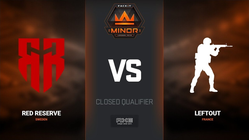 LeftOut vs Red Reserve, map 2 cache, Europe Minor Closed Qualifier – FACEIT Major 2018