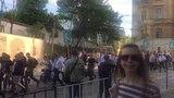 шествие по улицам Львова в честь 75 ой годовщины создания дивизии СС Галичина