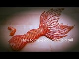 How to make an incredible doll mermaid tail, MH repiant