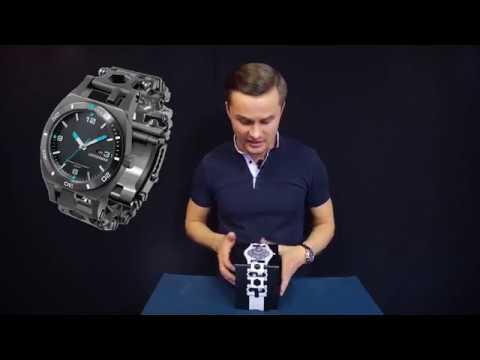 Часы-мультитул Leatherman Tread Tempo и бритва X-TRIM в подарок!
