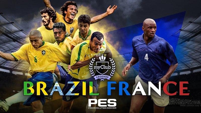 PES 2018 - Brazilian Legends and Vieira Trailer