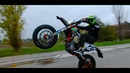 KTM EXC 450 SUPERMOTO | WHEELIE EDIT
