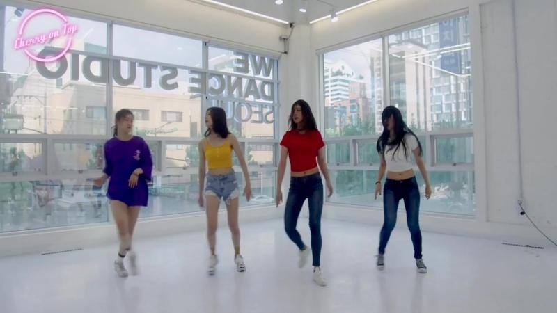 체리온탑 (CHERRY ON TOP) 'HI FIVE' Dance Practice (Eye contact version)