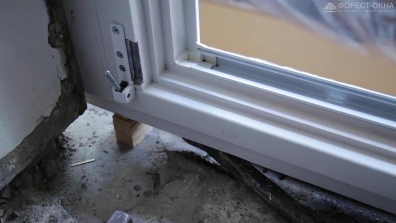 Монтаж деревянных окон в панельном доме серии II-68