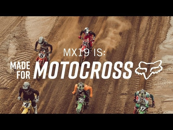 FOX MX | MX19 IS MADE FOR MOTOCROSS | RICKY CARMICHAEL, KEN ROCZEN, RYAN DUNGEY, ADAM CIANCIARULO