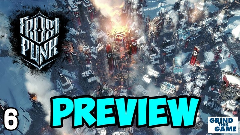 FROSTPUNK REVIEW Gameplay 6 - FATAL STORM (Spoilers) - Steampunk Ice Survival [4k]