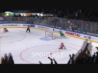 Владимир Жарков делает счет 4:0!